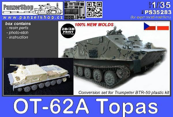 OT-62 TOPAS APC resin conversion Warsaw Pact 1 35 PanzerShop PS35283