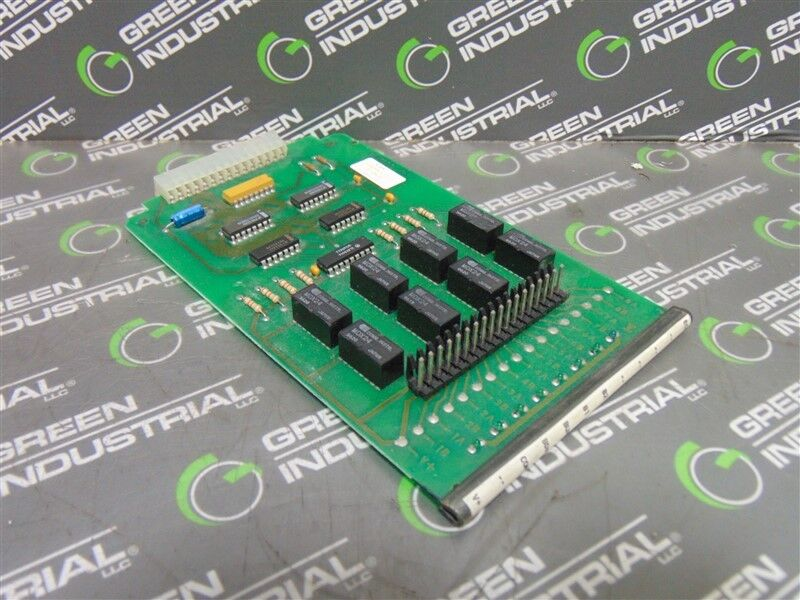 USED Montgomery KONE P-24100 Relay Output Board B-49722 Rev. 1
