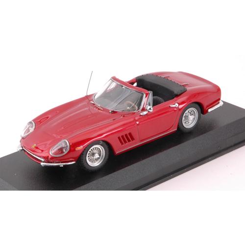 FERRARI 275 GTB SPIDER rosso STEVE MCQUEEN 1960 1 43 Best Model Movie Die Cast