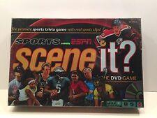SPORTS SCENE IT? DVD GAME ESPN NFL NBA NHL MLB NEW IN FACTORY SEALED BOX