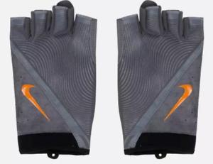 NEW Men/'s Nike Havoc Training Gloves Speed Black Orange Size Medium