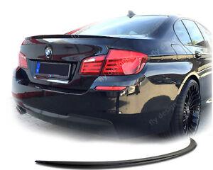 fuer-BMW-F10-M-Sport-Heckspoilerlippe-M-Stil-SLIM-SPOILER-Kofferraumlippe-2010-16