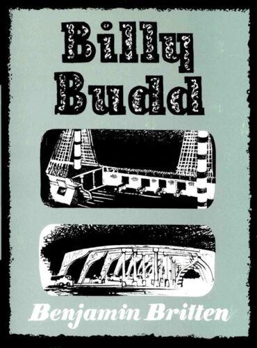 BRITTEN BILLY BUDD Vocal Score
