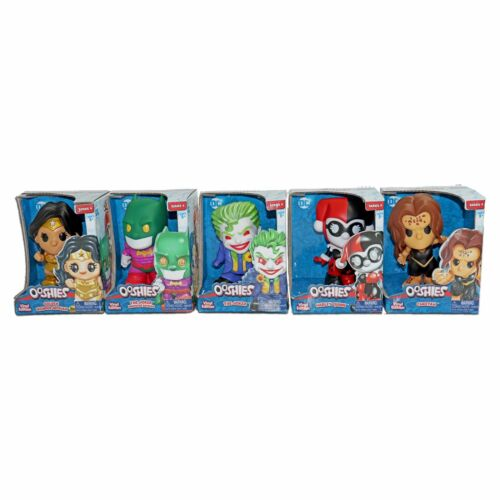 Ooshies DC 4 Inch Figures Choose your favorite Series 4
