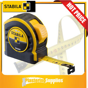 Stabila-Tape-Measure-8m-x-25mm-Spikes-BM40-17745