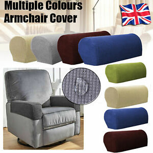 Marvelous Details About 1 2 3 Pair Pixel Sofa Arm Protectors Armrest Covers Armchair Slipcovers Stretch Download Free Architecture Designs Scobabritishbridgeorg