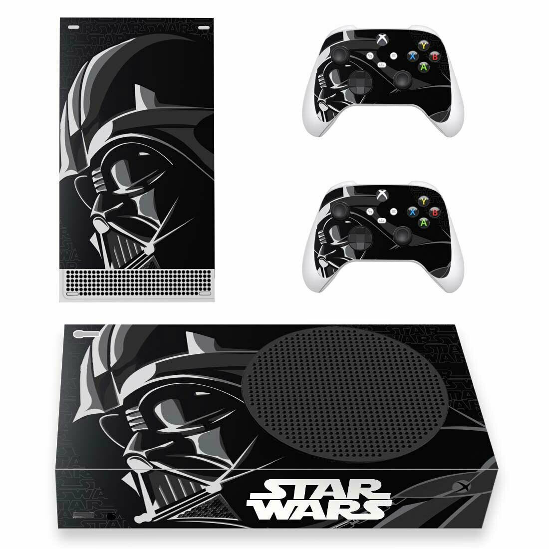 Star Wars Vinyl Skin Sticker Cover for Xbox Series S Console & 2 Controllers