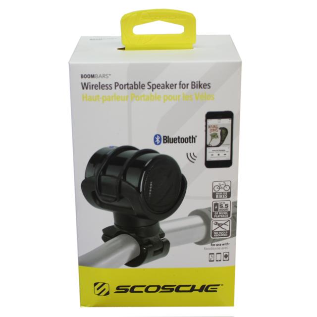 SCOSCHE Bluetooth Speaker with Bike//Stroller Mount Retail