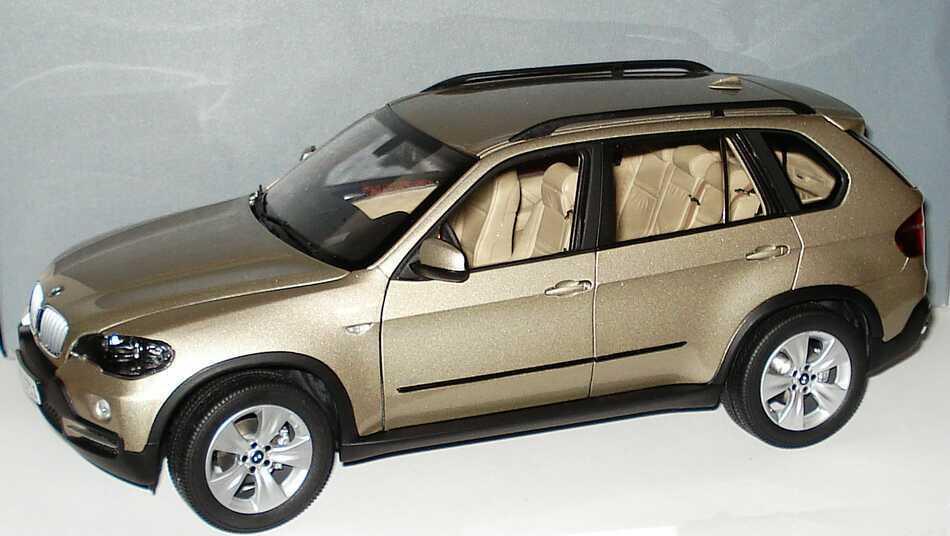 1 18 Kyosho 80430413413 BMW X5 E70 xDrive 4.8i Gold - 2007