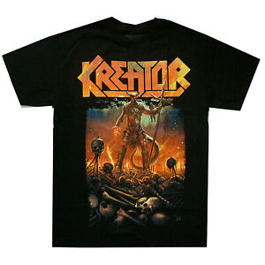 Kreator-Warrior-Shirt-S-XL-T-shirt-Thrash-Metal-Band-Official-Tshirt