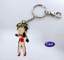 Betty Boop - Betty Winks- Key ring/chain - (KR905)