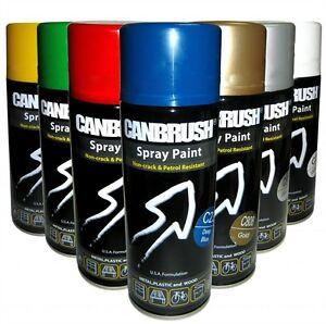 3x High Quality Aerosol Spray Colour Paint Interior Exterior Metal Plastic Wood