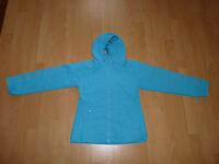 65. H&M Übergangsjacke Regenjacke Jacke Gr 146 türkis blau