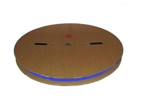 2.4 Mm Diamètre 200 M Roll Blue thermorétractables Heatshrink Tube Tubing