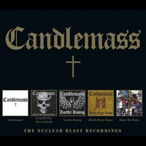 CANDLEMASS-THE-NUCLEAR-BLAST-RECORDINGS-5CD-BOX-5-CD-NEUF