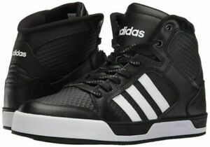Adidas-Neo-Raleigh-MID-Men-039-s-Shoes-Sneakers-Black-White-AW5405-Size-9-5-Open-Box