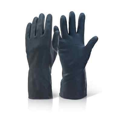 11 Paar Chemikalienhandschuhe extra dicke Latex Neopren Säurebeständig S bis XXL