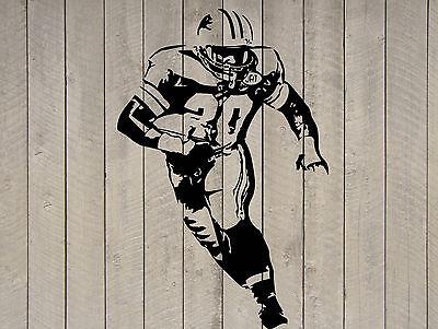"Baltimore Ravens Football Vinyl Wall Sticker Decal 22/"" w x 27/"" h"