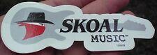 "VINTAGE ORIGINAL SKOAL BANDIT MUSIC DECAL 5"" LONG"