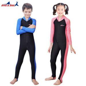 2c02e4cb1e KeepDiving® WetSuit UPF50+ Lycra Long Sleeved Dive Suit Kids Boy ...