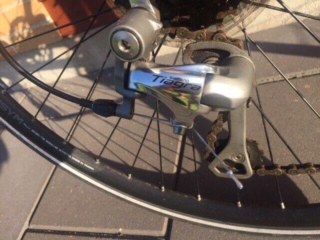 Herrecykel, Nishiki Hybrid race Pro SLD, 61 cm stel