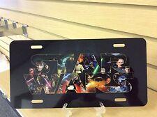 STAR WARS Novelty Vanity License Plate, Jaba Hans Solo Yoda Luke Skywalker