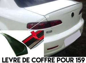 LAME COFFRE SPOILER BECQUET LEVRE HAYON pour ALFA ROMEO 159 2005-13 JTDM JTS Q4