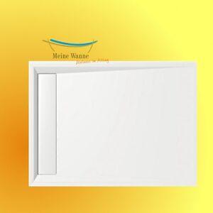 mineralguss duschwanne vanessa 90x80 80x90 4cm flach mit ohne anti rutsch neu ebay. Black Bedroom Furniture Sets. Home Design Ideas