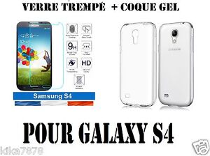 LOT-Coque-Etui-Housse-Silicone-slim-Samsung-Galaxy-S4-Film-Verre-Trempe