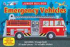 Junior Builder: Emergency Vehicles by Chris Oxlade (Hardback, 2015)