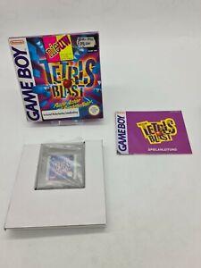 RARE NEW Nintendo Game boy Gameboy TETRIS BLAST OVP BOITE Boxed DMG-ASBP-NOE/EUR