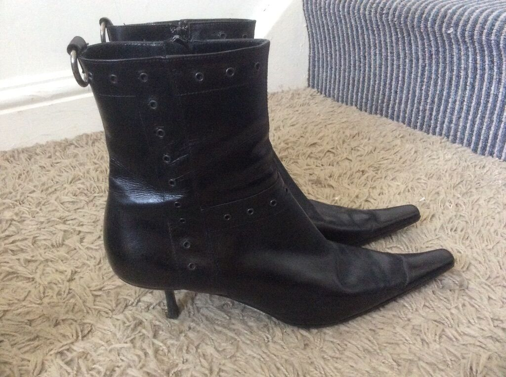 VITNER Sexy Real Leather shoes Size UK 6.5
