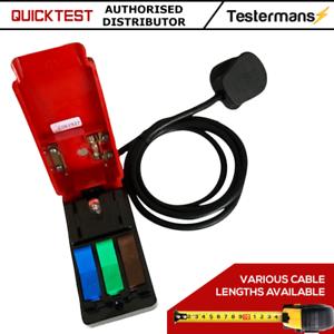 QuickTest-Secteur-Connecteur-Test-securite-Unite-Cable-2-m-Cliff-Composants-UK-Made