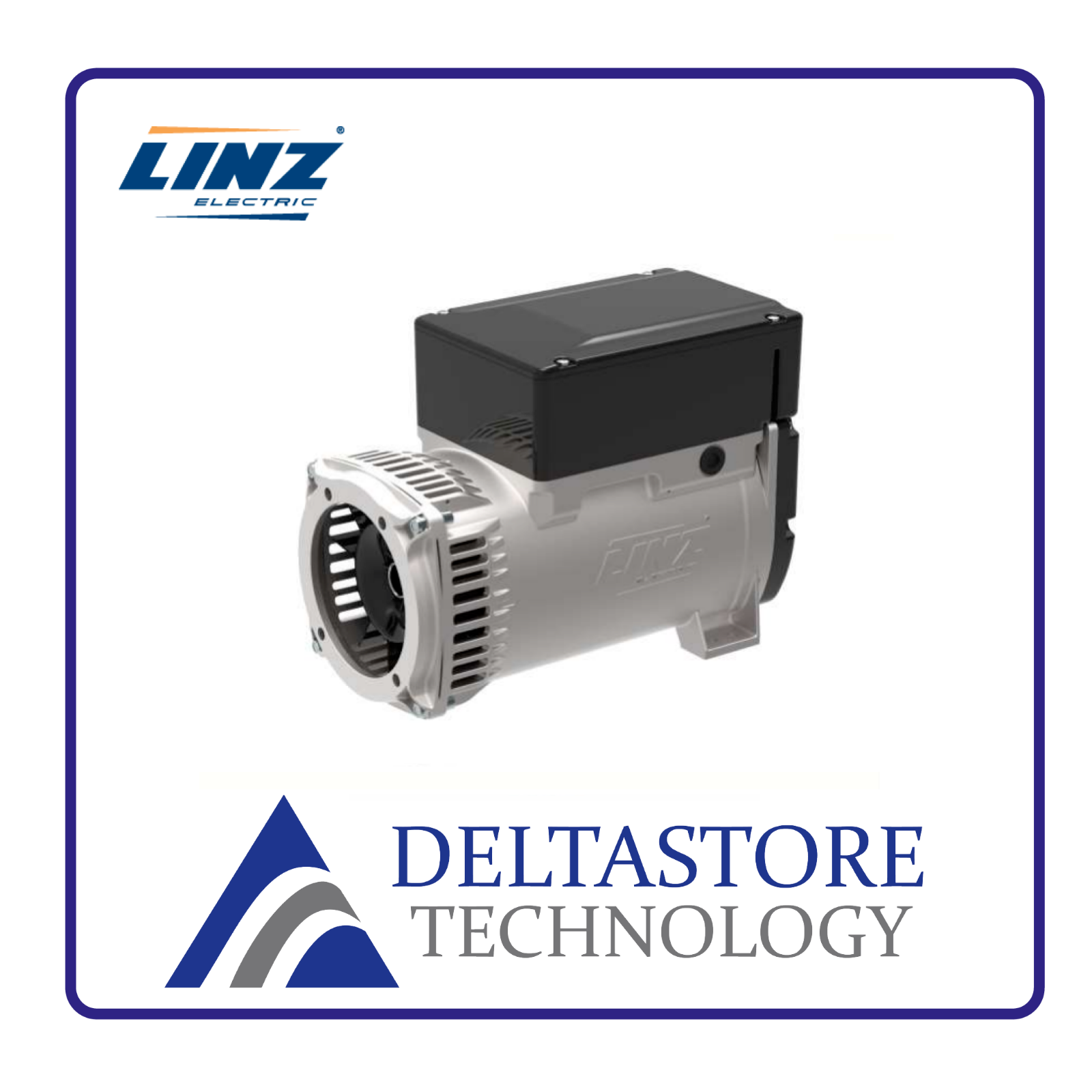 ALTERNATORE LINZ E1S11KE DA 10 A 11,5 kVA AVR + COMPOUND - FLANGIA A SCELTA