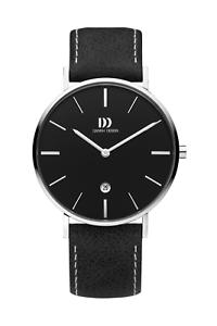 Danish-Design-Herrenuhr-3314591-Daenisches-Design-m-Datum-Maenner-Uhr-Lederarmband
