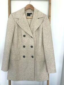 ASOS-Tall-Womens-Coat-Jacket-Size-10-Beige