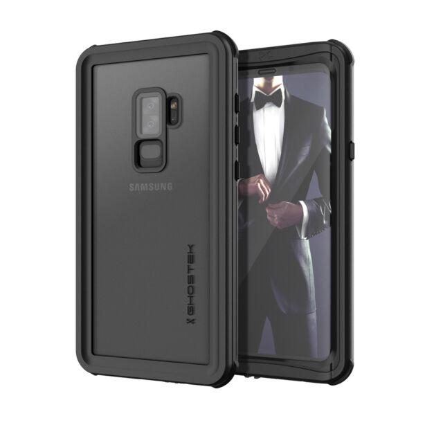 sale retailer 9bf93 2a877 Waterproof Ghostek Nautical 2 Samsung Galaxy S9 Shockproof Black Case