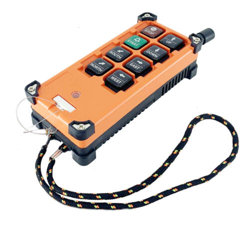 Wireless Crane Remote Control 8 Buttons 12V-72V Crane Industrial Remote Control