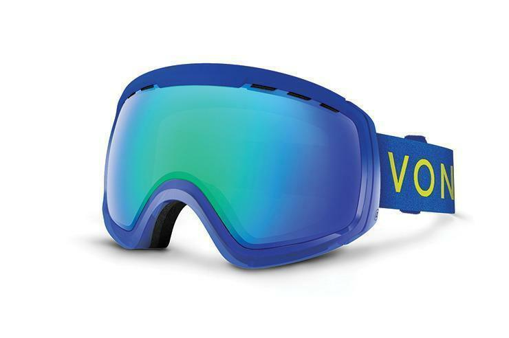NEW  VonZipper Feenom NLS bluee Green Mirror Mens Snowboard Goggles +lens Ret 160  hot sales