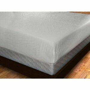 Royal Mystique Fitted Vinyl Mattress Cover Heavy Duty
