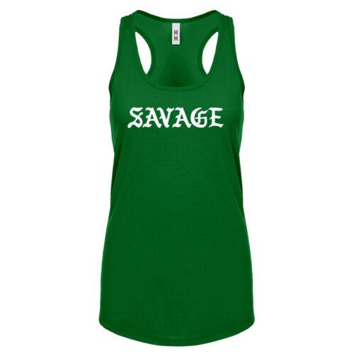Womens Savage Racerback Tank Top #3430