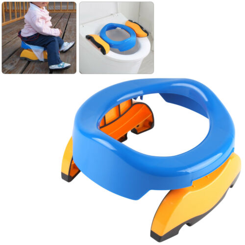 Baby Toddler Kid Child Travel Foldable Portable Toilet Seat Potty Training Seat