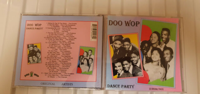 Doo wop dance party Vol 1 rockin cd Various rare Artists and songs