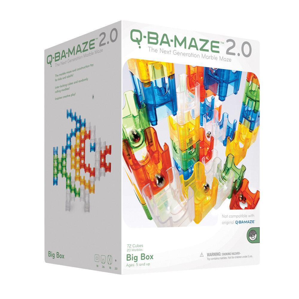 Q-Ba-Maze Marble Run Big Box   Construction and STEM Toy