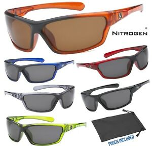 b6344545df2 Image is loading Mens-Nitrogen-Polarized-Sunglasses-Sport-Running-Fishing- Golfing-