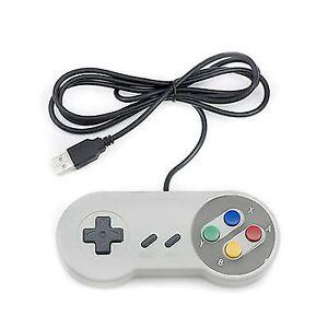 SNES-Spiel-PC-Controller-SFC-GamePad-fuer-Nintendo-PC-USB-2-0-Super-Famicom