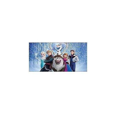 Stickers chambre d/'enfant tête de lit La reine des Neiges réf 8470
