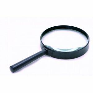 UKDJ-100mm-4-034-Hand-Held-Magnifying-Glass-Large-Magnifier-3X-Glass-Lens-BNIB