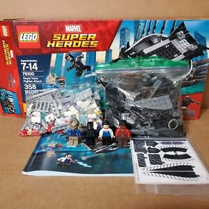 LEGO Super Heroes Royal Talon Fighter Attack Black Panther 76100 100% Complete