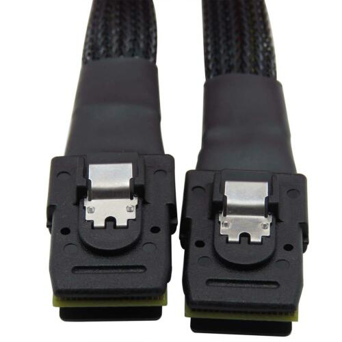 CableDeconn 1m Mini SAS 36P SFF-8087 to Mini SAS 36P External Connector Cable